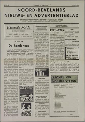 Noord-Bevelands Nieuws- en advertentieblad 1986-03-27