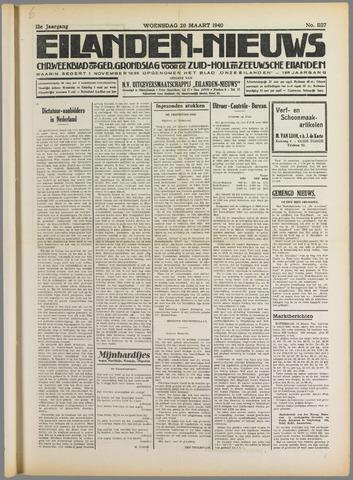 Eilanden-nieuws. Christelijk streekblad op gereformeerde grondslag 1940-03-20