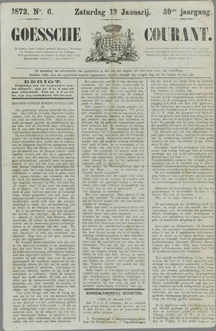 Goessche Courant 1872-01-13
