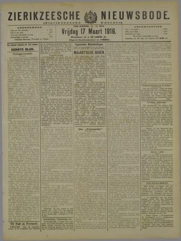 Zierikzeesche Nieuwsbode 1916-03-17