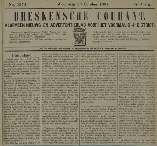 Breskensche Courant 1907-10-23