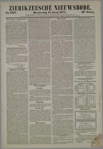 Zierikzeesche Nieuwsbode 1874-06-11