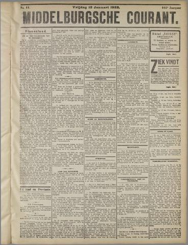 Middelburgsche Courant 1922-01-13
