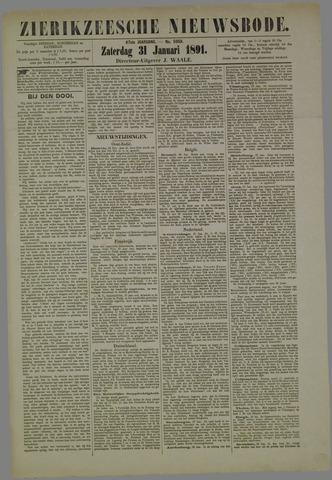 Zierikzeesche Nieuwsbode 1891-01-31