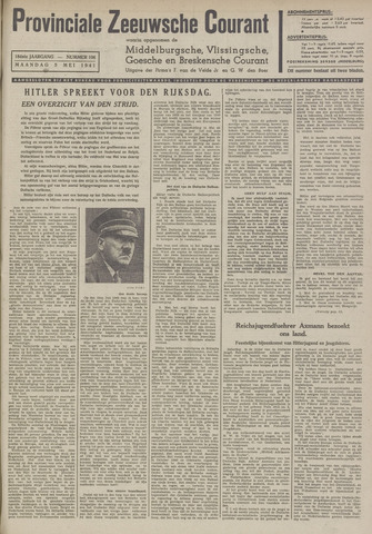 Provinciale Zeeuwse Courant 1941-05-05