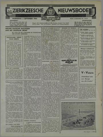 Zierikzeesche Nieuwsbode 1941-09-03
