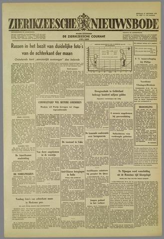 Zierikzeesche Nieuwsbode 1959-10-27