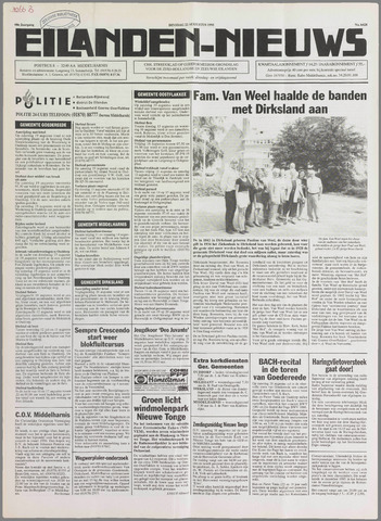 Eilanden-nieuws. Christelijk streekblad op gereformeerde grondslag 1995-08-22