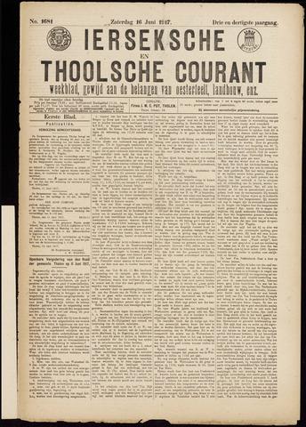 Ierseksche en Thoolsche Courant 1917-06-16
