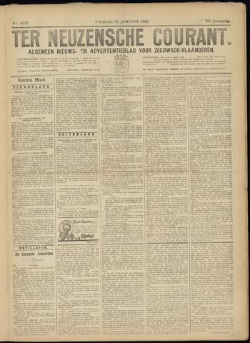 Ter Neuzensche Courant. Algemeen Nieuws- en Advertentieblad voor Zeeuwsch-Vlaanderen / Neuzensche Courant ... (idem) / (Algemeen) nieuws en advertentieblad voor Zeeuwsch-Vlaanderen 1930-01-10