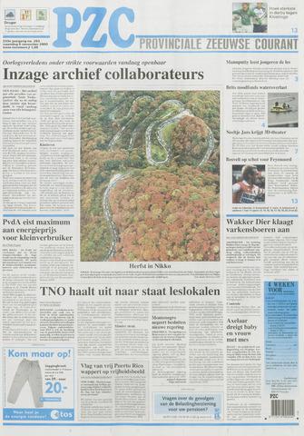 Provinciale Zeeuwse Courant 2000-11-06