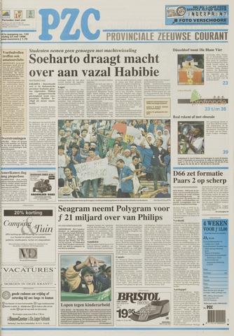 Provinciale Zeeuwse Courant 1998-05-22