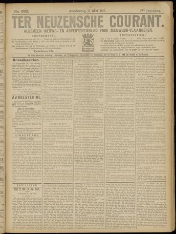 Ter Neuzensche Courant. Algemeen Nieuws- en Advertentieblad voor Zeeuwsch-Vlaanderen / Neuzensche Courant ... (idem) / (Algemeen) nieuws en advertentieblad voor Zeeuwsch-Vlaanderen 1917-05-17