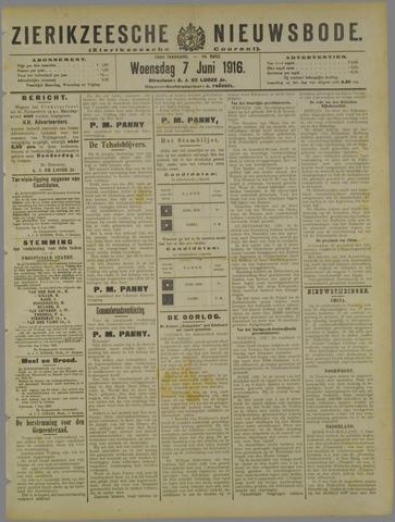 Zierikzeesche Nieuwsbode 1916-06-07
