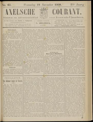 Axelsche Courant 1908-11-18