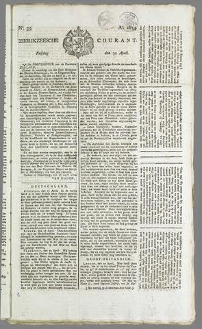 Zierikzeesche Courant 1824-04-30