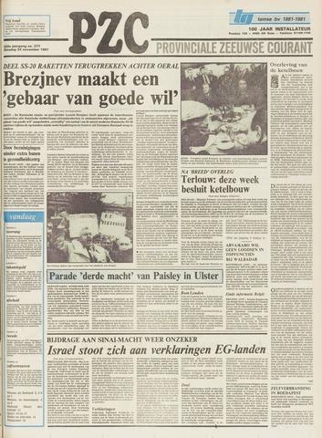 Provinciale Zeeuwse Courant 1981-11-24