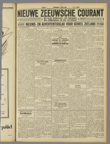 Nieuwe Zeeuwsche Courant 1929-04-11
