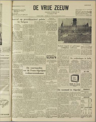 de Vrije Zeeuw 1962-02-28
