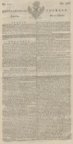 Middelburgsche Courant 1761-10-10