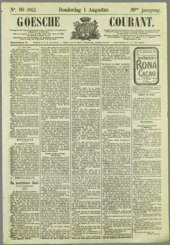 Goessche Courant 1912-08-01
