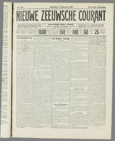 Nieuwe Zeeuwsche Courant 1917-02-06