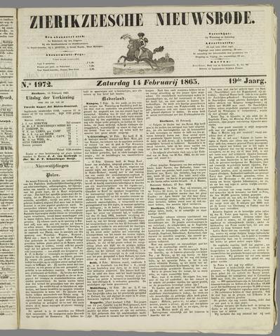 Zierikzeesche Nieuwsbode 1863-02-14