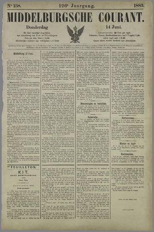 Middelburgsche Courant 1883-06-14