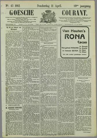 Goessche Courant 1912-04-11