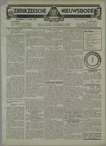 Zierikzeesche Nieuwsbode 1937-06-14