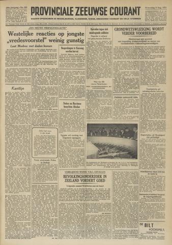 Provinciale Zeeuwse Courant 1951-08-08