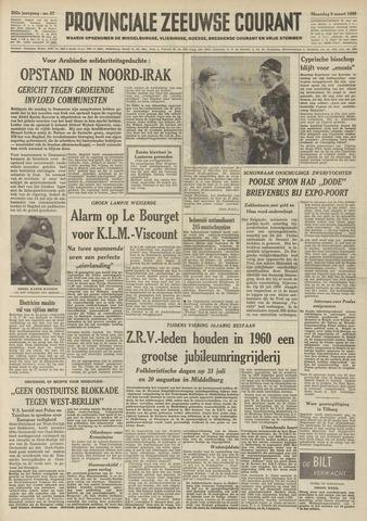 Provinciale Zeeuwse Courant 1959-03-09