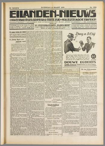 Eilanden-nieuws. Christelijk streekblad op gereformeerde grondslag 1939-03-18