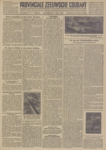 Provinciale Zeeuwse Courant 1942-11-07
