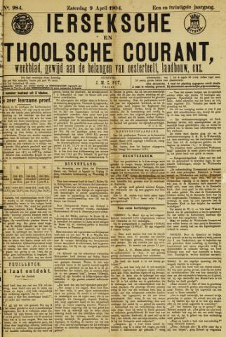 Ierseksche en Thoolsche Courant 1904-04-09