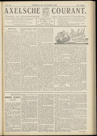 Axelsche Courant 1939-08-29
