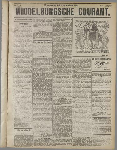 Middelburgsche Courant 1921-11-23