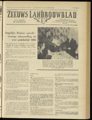 Zeeuwsch landbouwblad ... ZLM land- en tuinbouwblad 1960-11-19