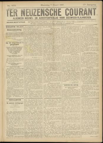 Ter Neuzensche Courant. Algemeen Nieuws- en Advertentieblad voor Zeeuwsch-Vlaanderen / Neuzensche Courant ... (idem) / (Algemeen) nieuws en advertentieblad voor Zeeuwsch-Vlaanderen 1927-03-07