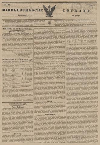 Middelburgsche Courant 1843-03-30