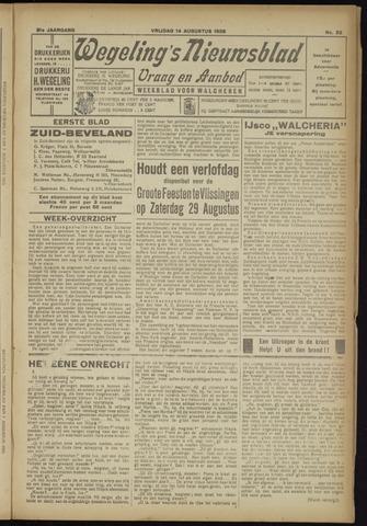 Zeeuwsch Nieuwsblad/Wegeling's Nieuwsblad 1925-08-14
