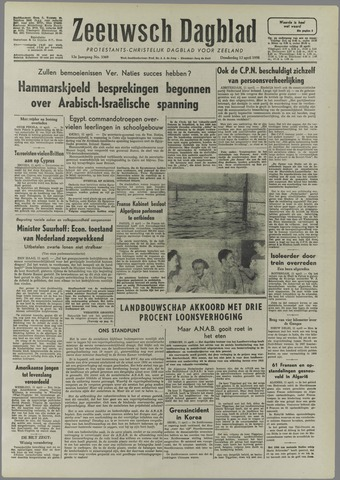 Zeeuwsch Dagblad 1956-04-12