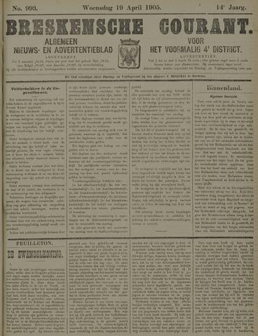 Breskensche Courant 1905-04-19