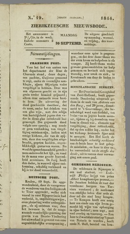 Zierikzeesche Nieuwsbode 1844-09-30