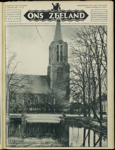 Ons Zeeland / Zeeuwsche editie 1932-01-15