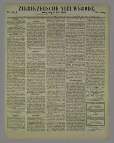Zierikzeesche Nieuwsbode 1882-05-09