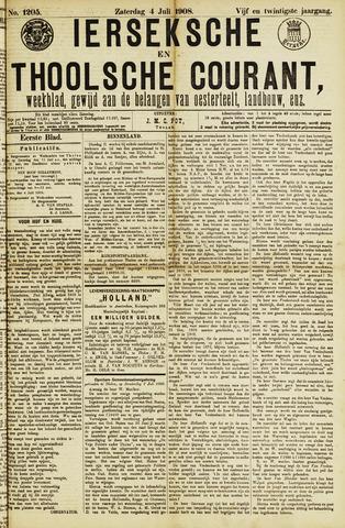 Ierseksche en Thoolsche Courant 1908-07-04