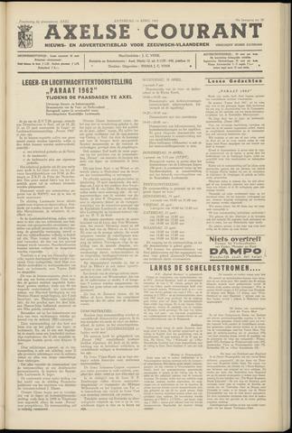 Axelsche Courant 1962-04-14