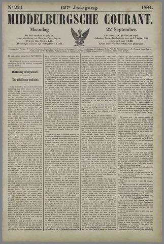 Middelburgsche Courant 1884-09-22