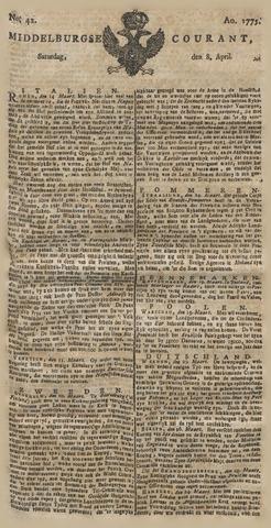 Middelburgsche Courant 1775-04-08